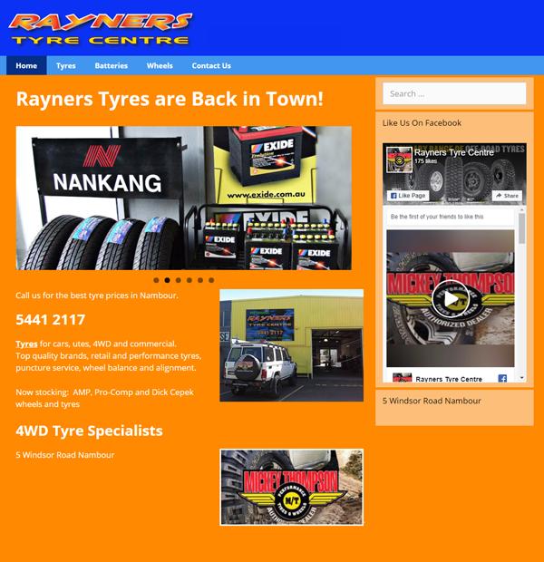 Rayners Tyres